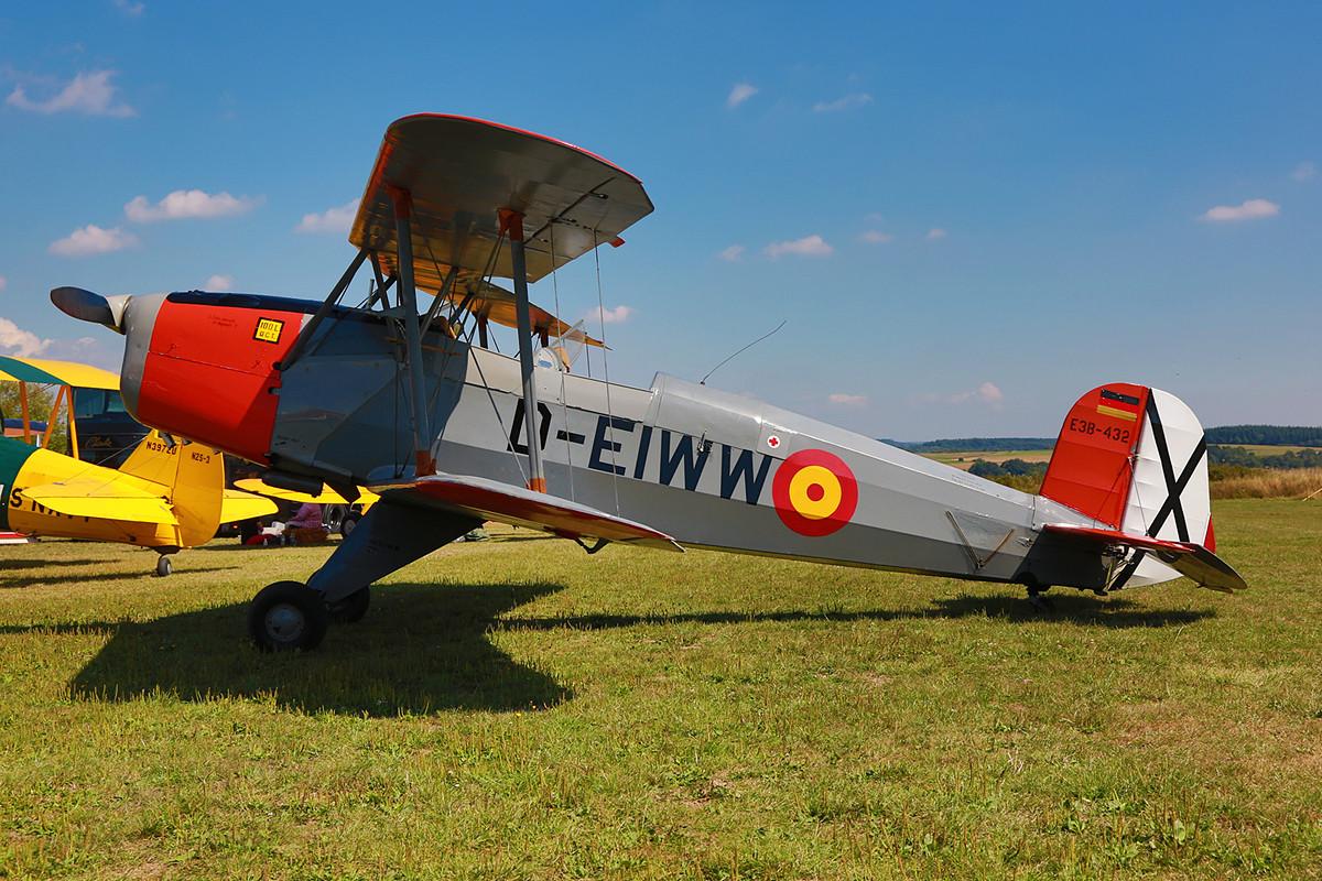 Sie war die letzte, die Armilla verließ, die E.3B-432.
