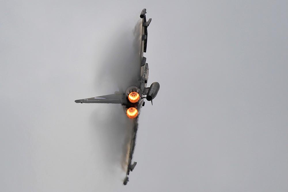 2013 kommt der Pilot wieder von der No. 29 (R) Sqn aus RAF Coningsby.