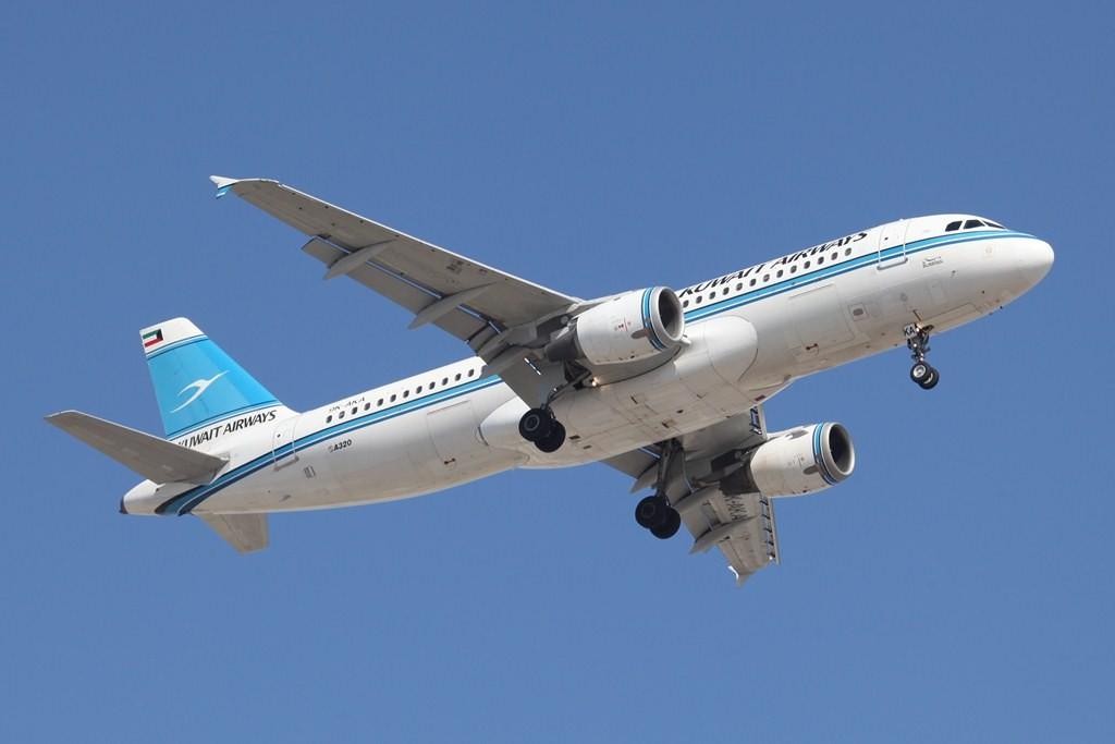 Kuwait Airways mit einem ihrer A 320