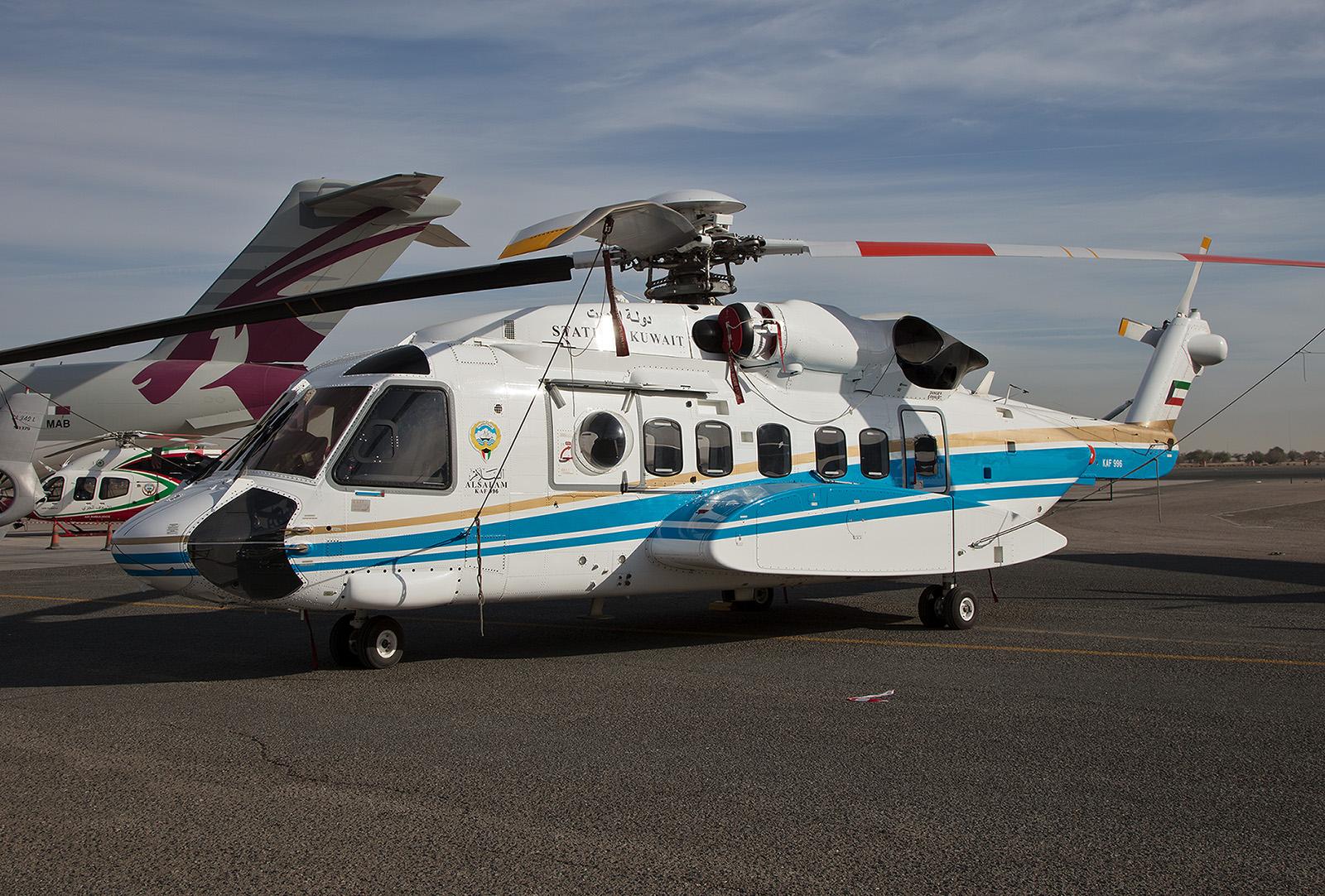 Sikorsky S-92 aus der VIP-Flotte