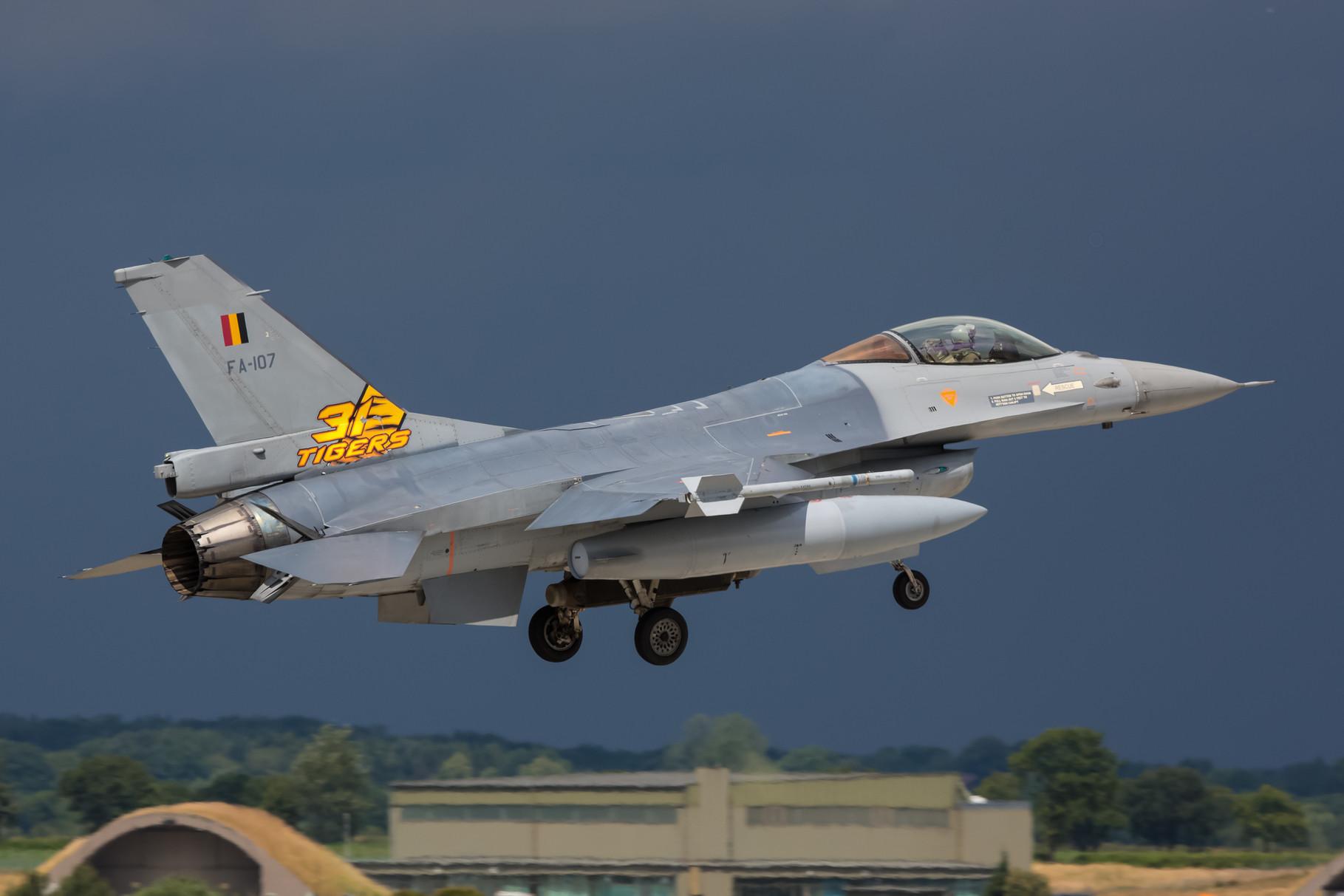 Die F-16 aus Kleine Brogel waren schon sieben Mal Gastgeber eines Tiger Meets