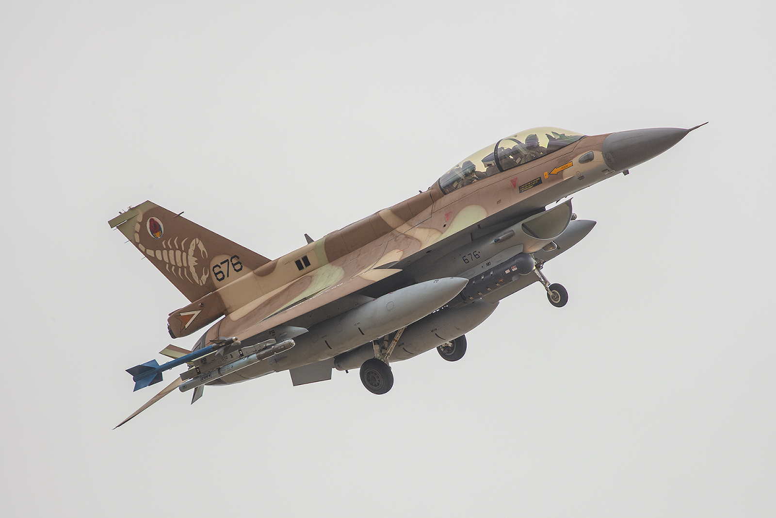 Mal ein Perspektivwechsel mit der F-16 und .......