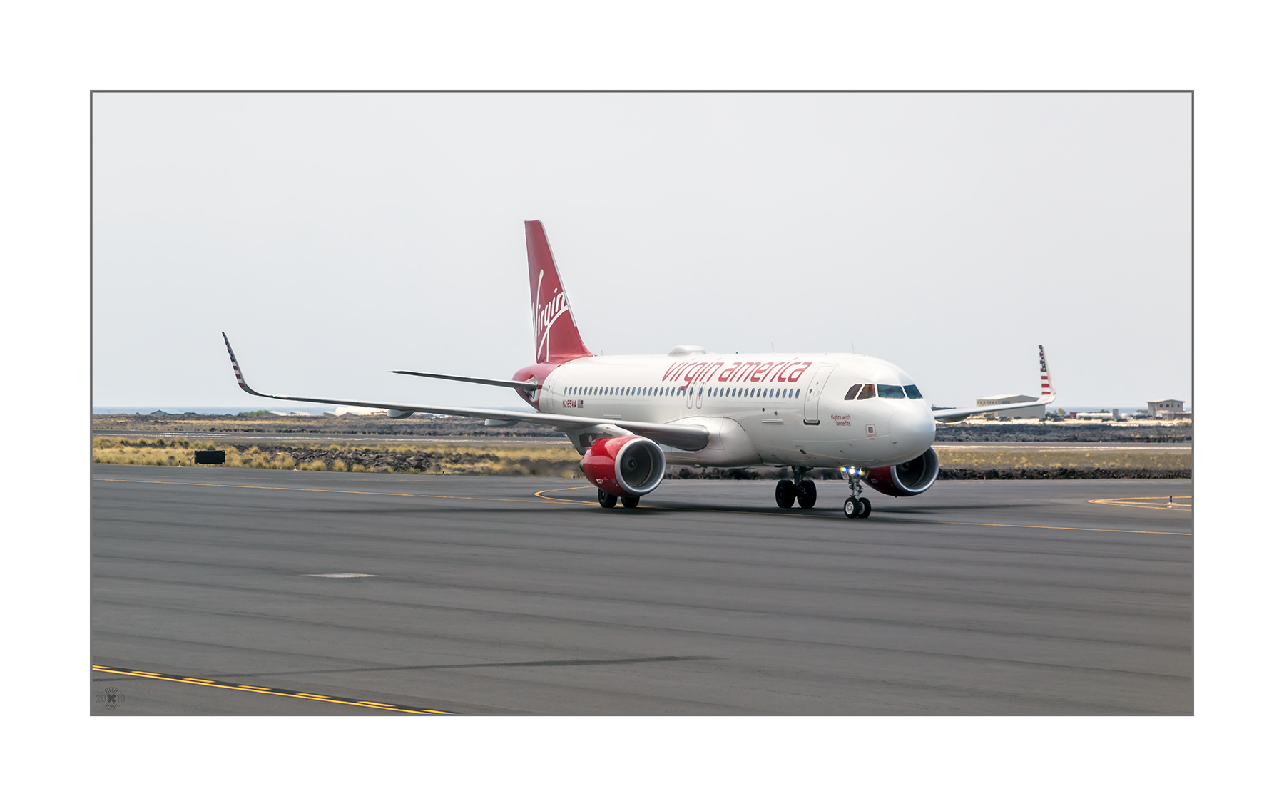 Virgin America Airus A320
