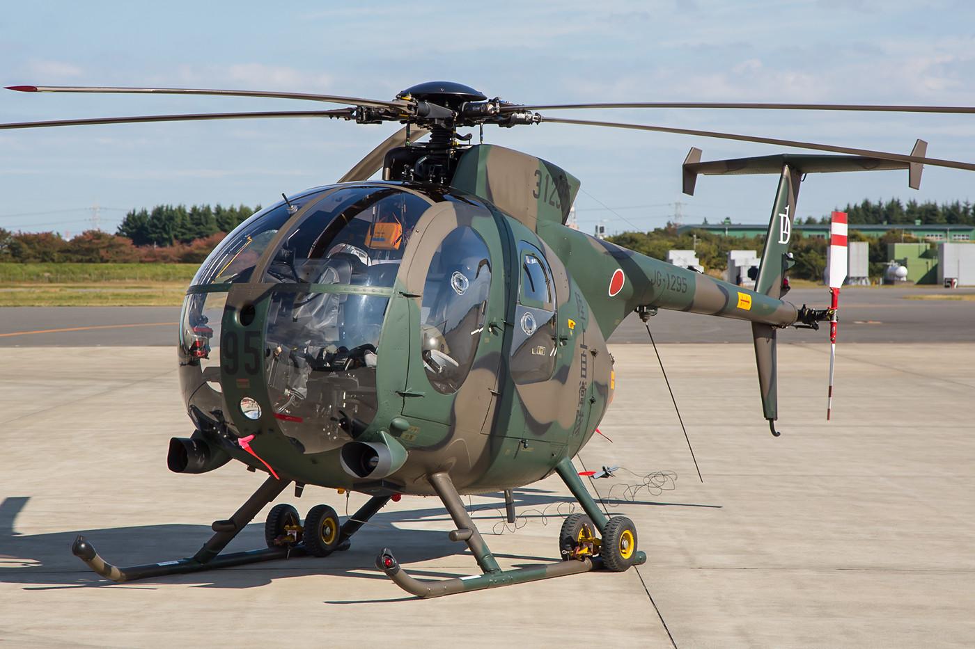 OH-6 der JGSDF, sie werden wohl demnächst ausgemustert.