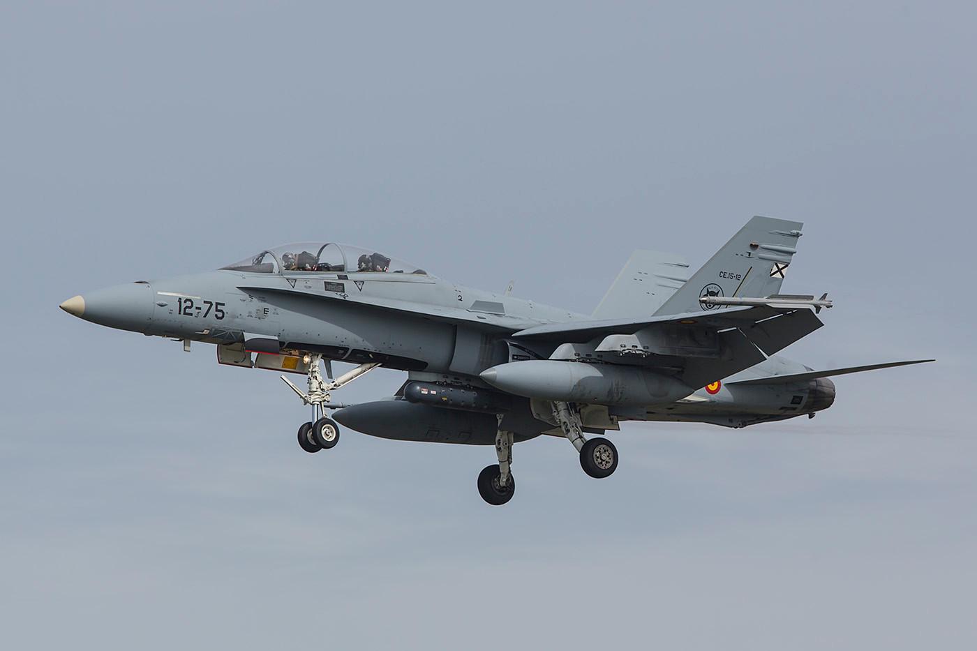 Hier nochmal die EF-18BM.