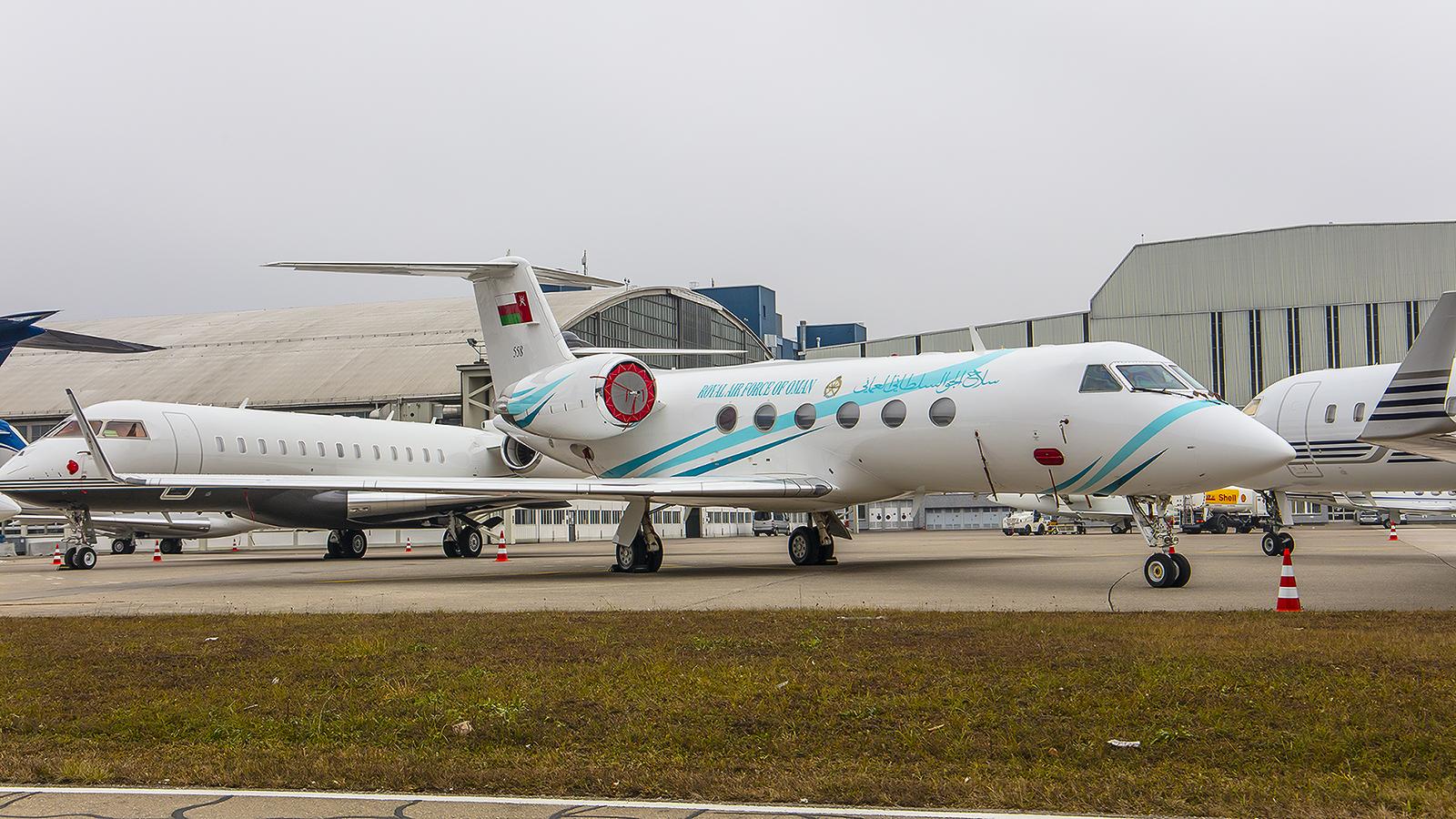 558, Gulfstream G-IV der Royal Oman Air Force