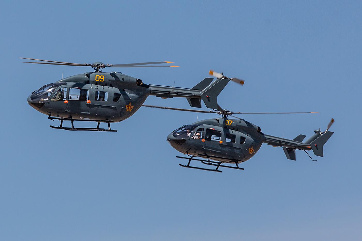 Hubschrauberballett