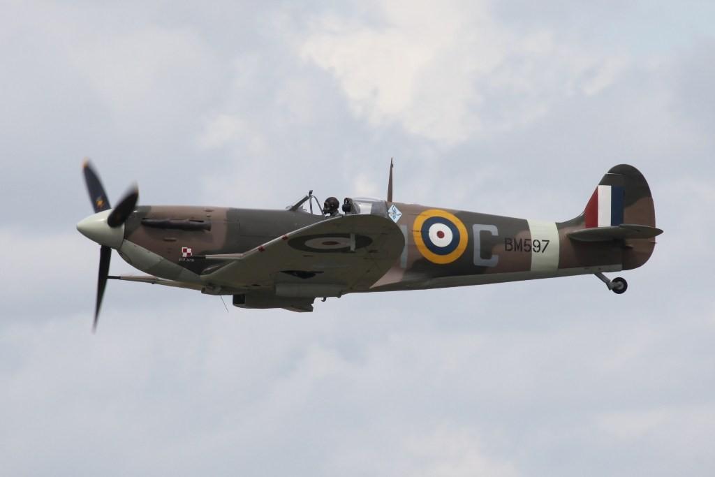 Eine Supermarine Spitfire Mk. Vb.