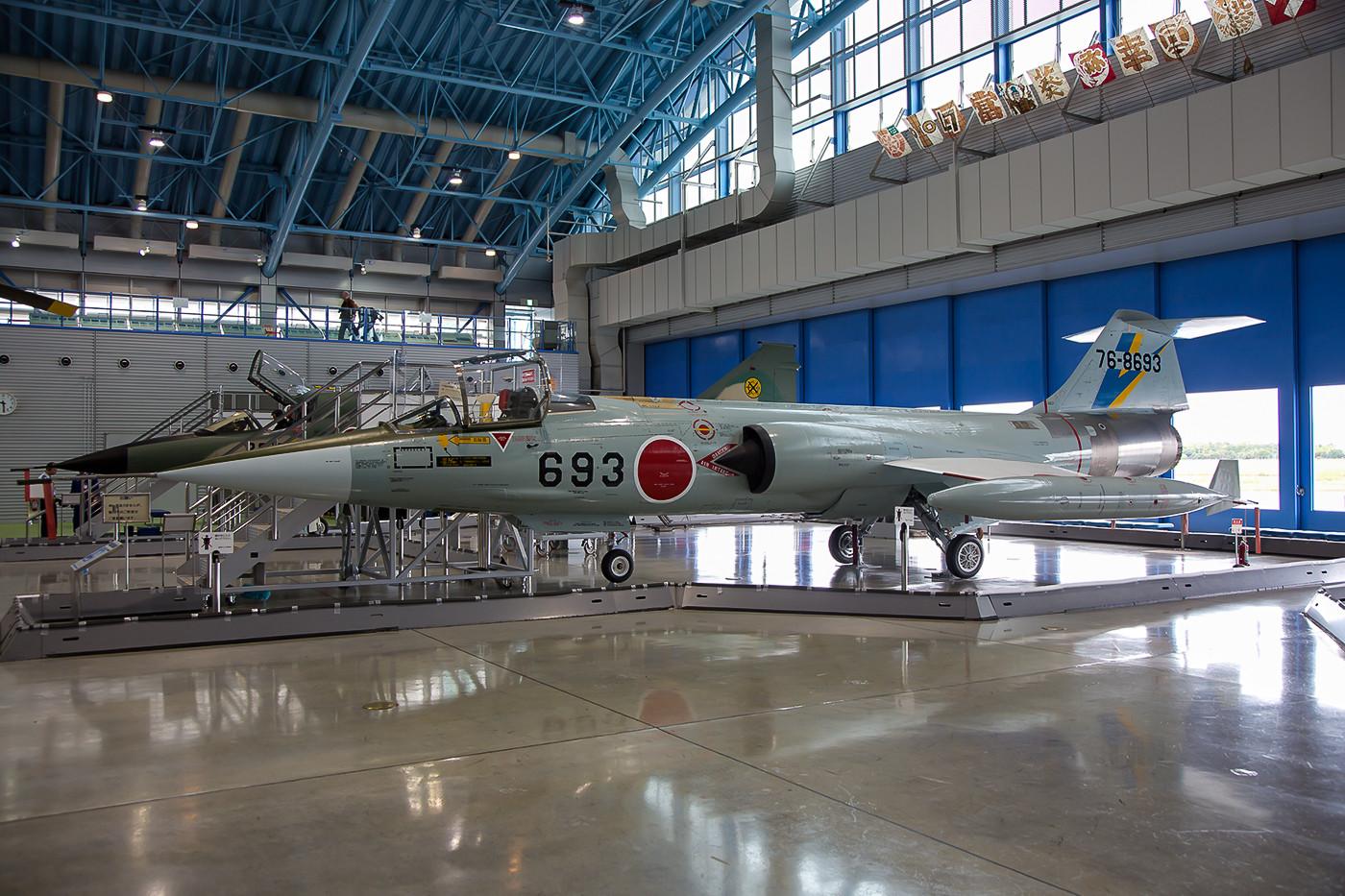 F-104J Starfighter, auch in Japan kam sie in grosser Stückzahl zum Einsatz.