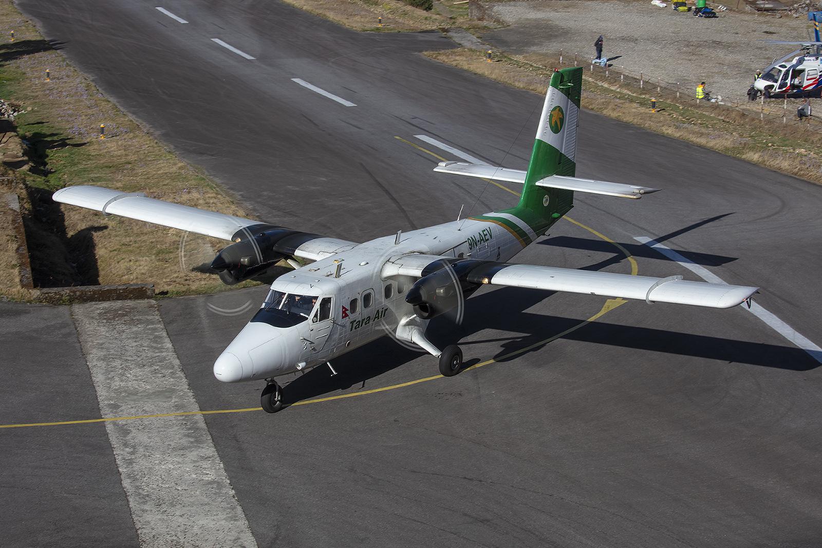 Tara Air betreibt die kleinen Flugzeuge für Yeti Air.