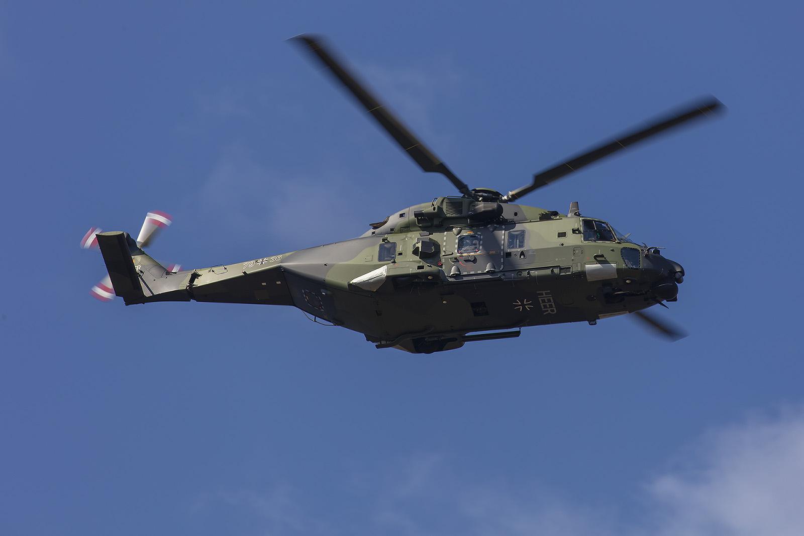 NH-90 des Heeres aus Niederstetten.