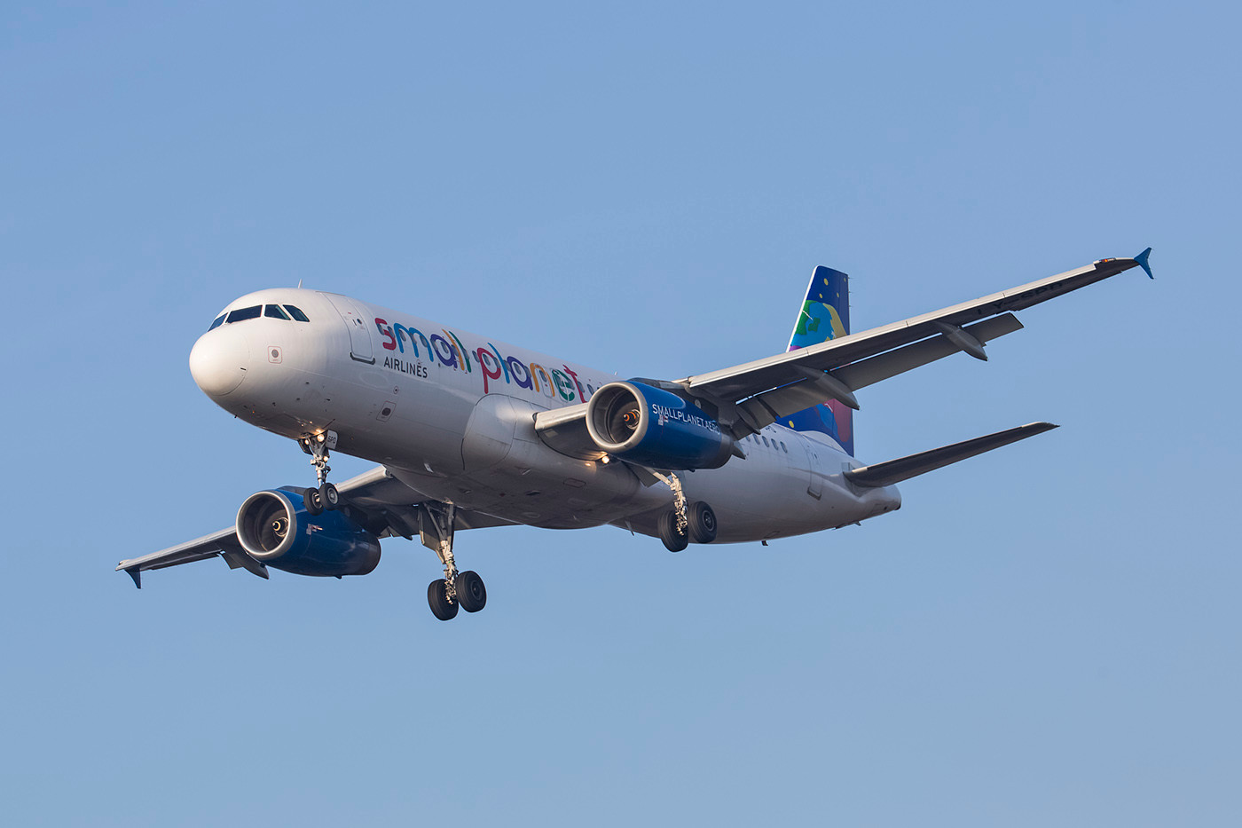 SPM 13.02.2015; LY-SPD, Airbus A 320-232, Small Planet (ex. Aero Lloyd, ex. Volare, ex. Niki, ex. LAN, ex. Jetstar)