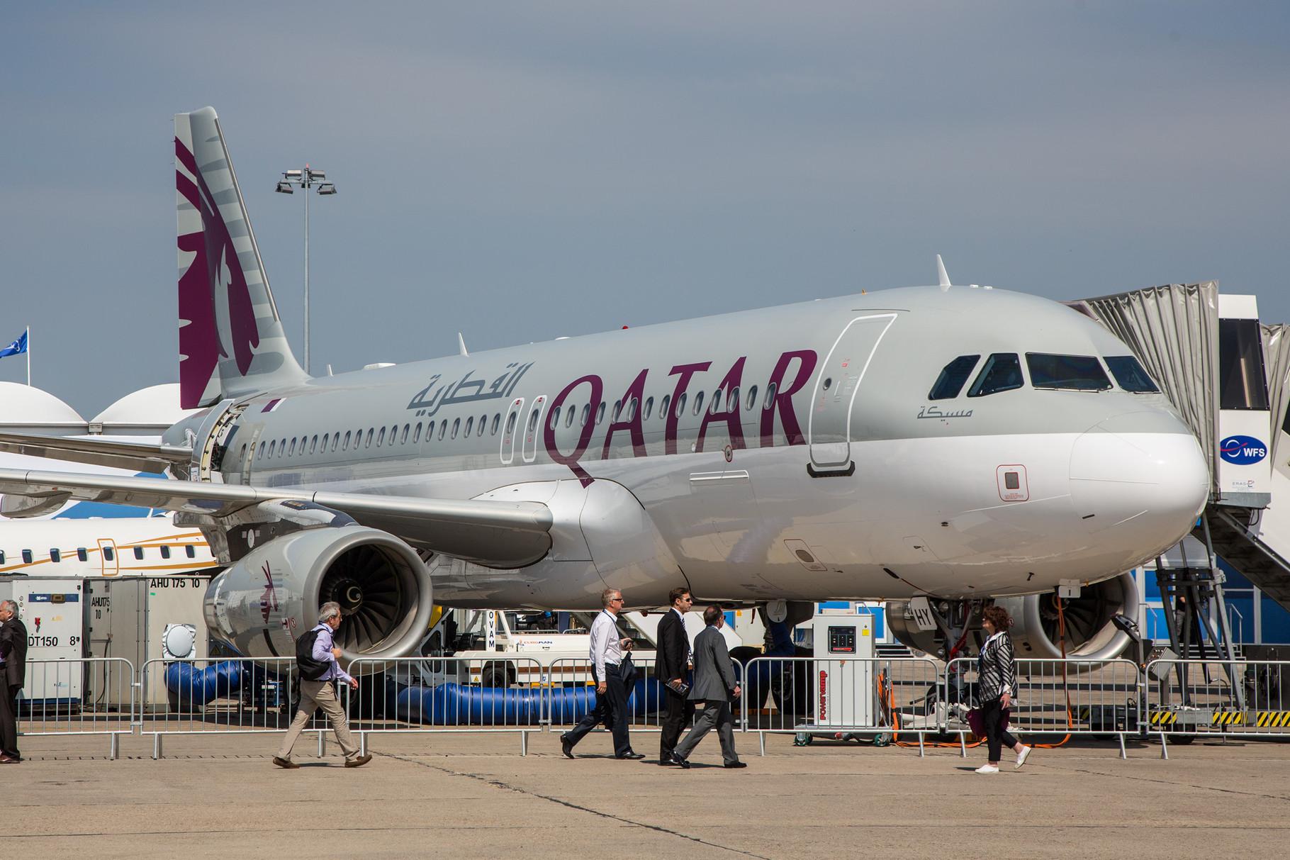 Airbus A 320, wie er auf weniger stark frequentierten Routen zum Einsatz kommt.