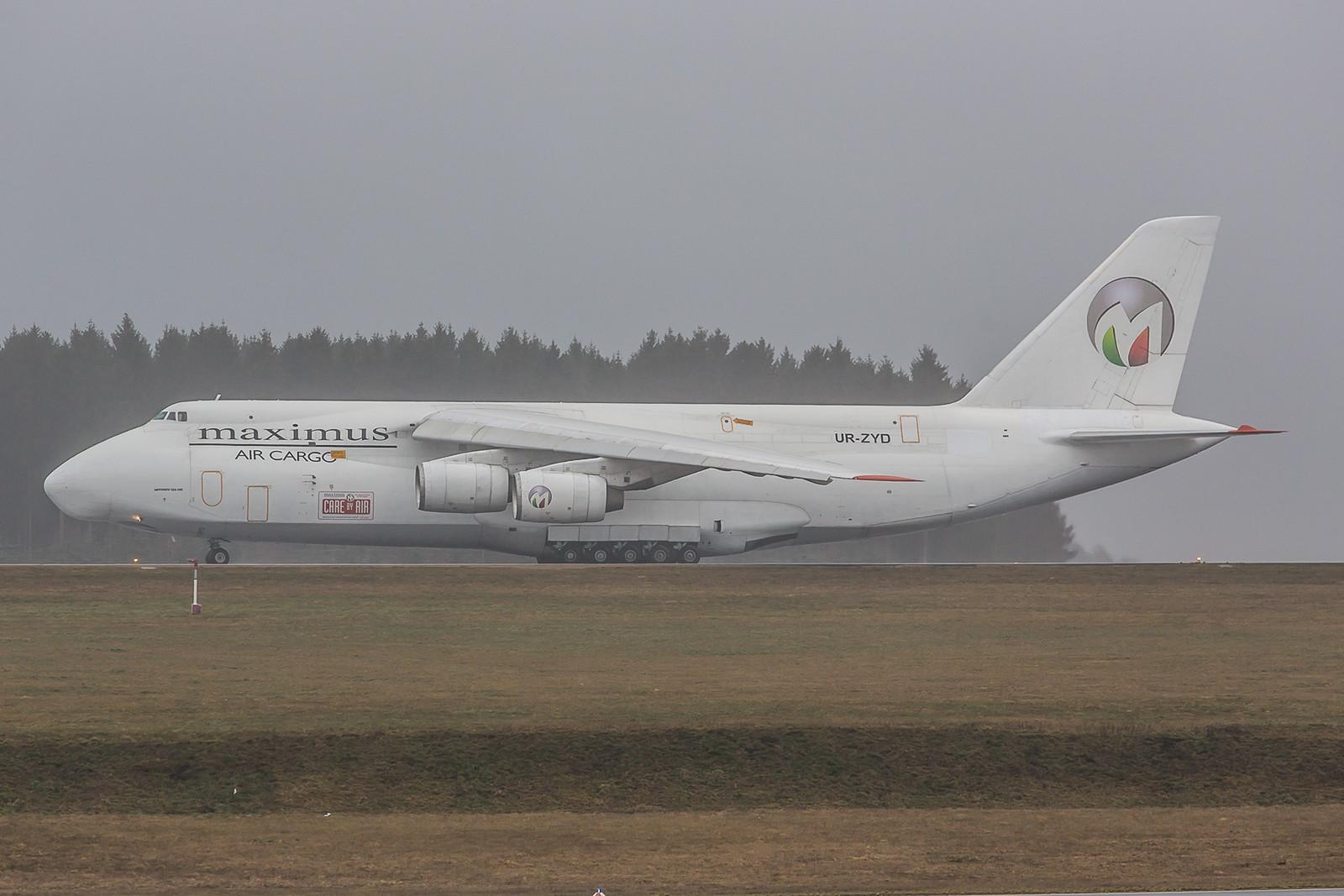 EDFH, 23.03.2016; UR-ZYD, Antonov AN-124-100 Ruslan, Maximus Air Cargo
