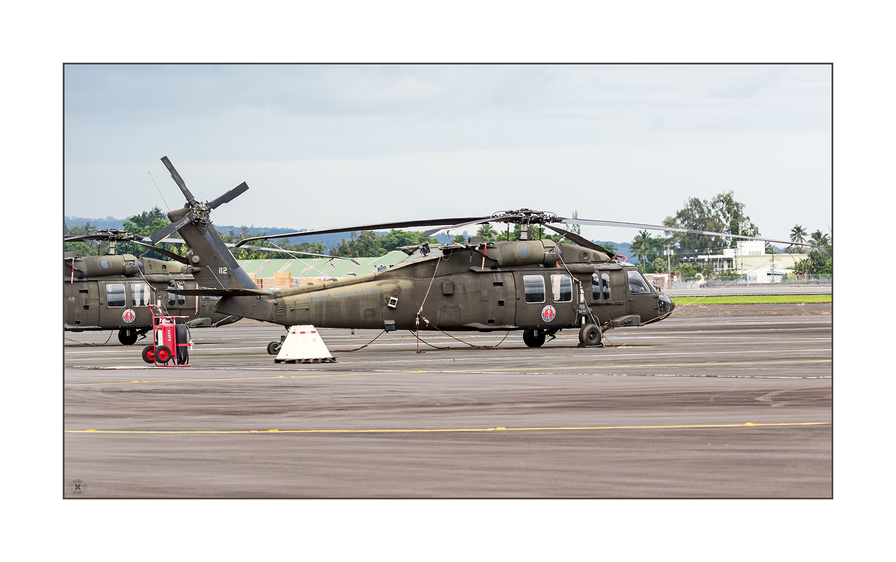 Sikorsky UH-60M 20112 US Army NG am Hilo Airport