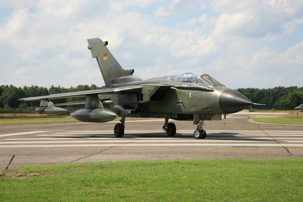 Ein weiterer Tornado IDS auf der belgischen Luftwaffenbasis Kleine Brogel.