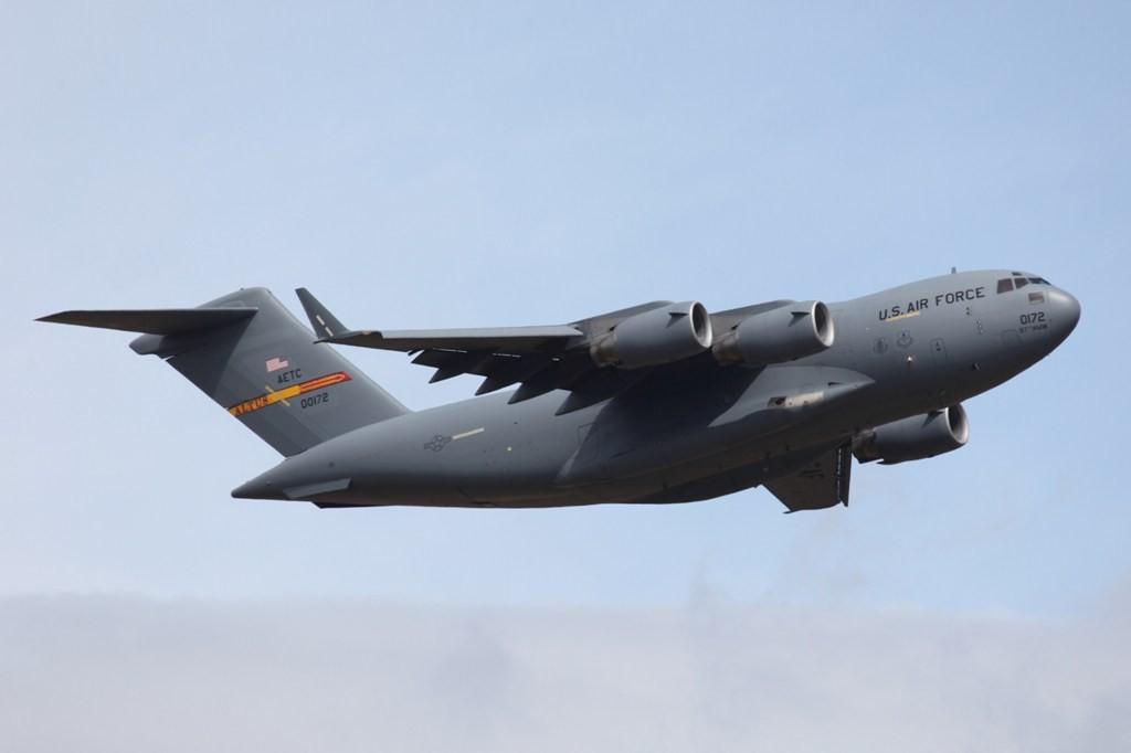 C-17A von der 58. Airlift Squadron aus Altus, Oklahoma