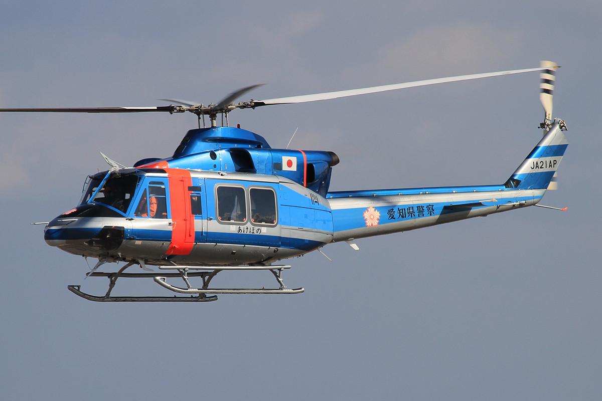 Bell 212 der Polizei