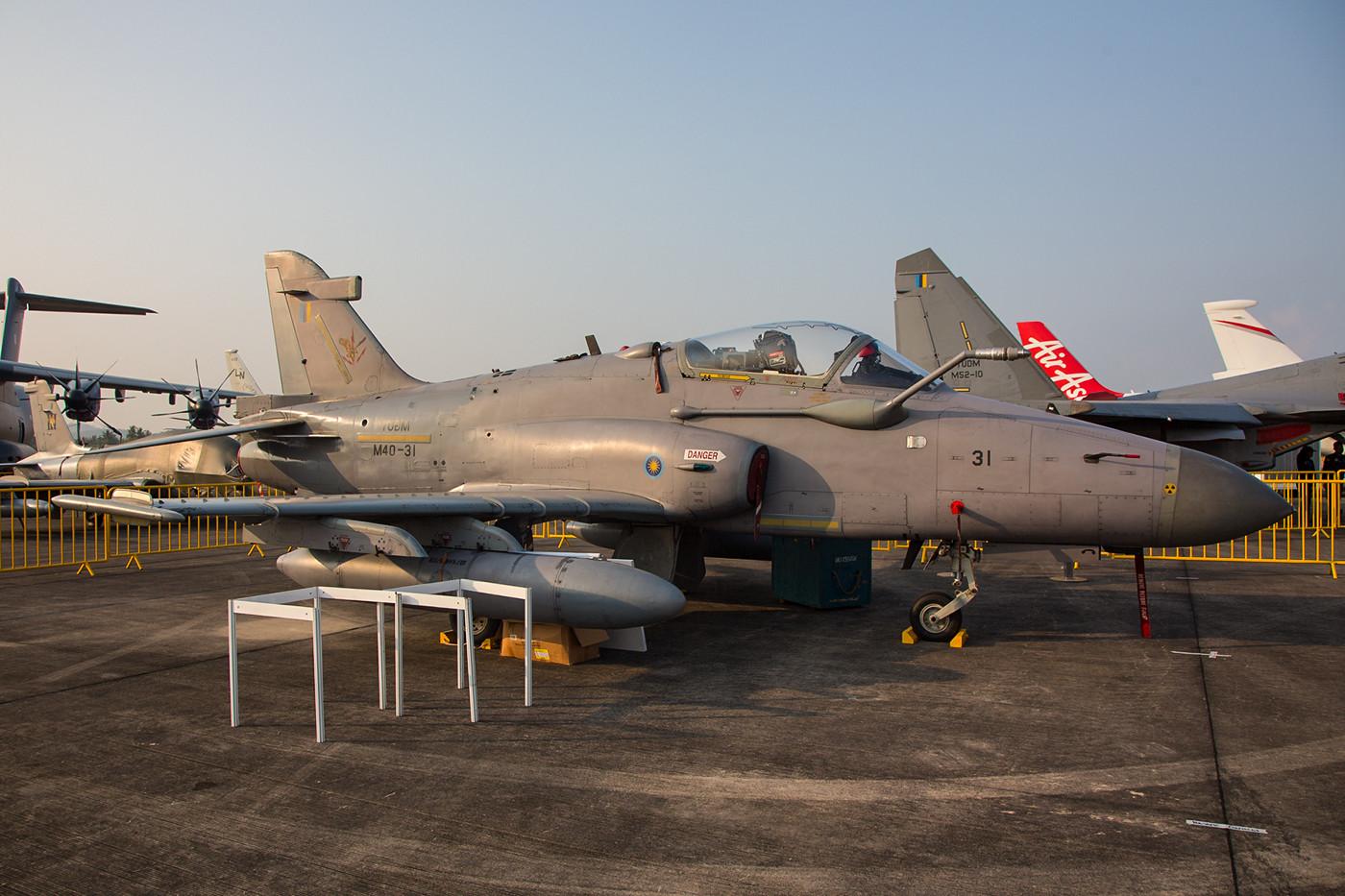 In Europa trifft man die Hawks MK108 nicht an, diese werden ausschließlich in Asien und Südamerika geflogen.