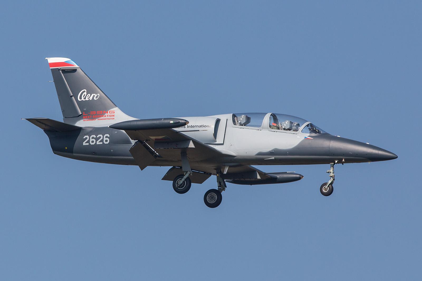 Aero L-39NG mit neuen Triebwerken und neuer Avionik