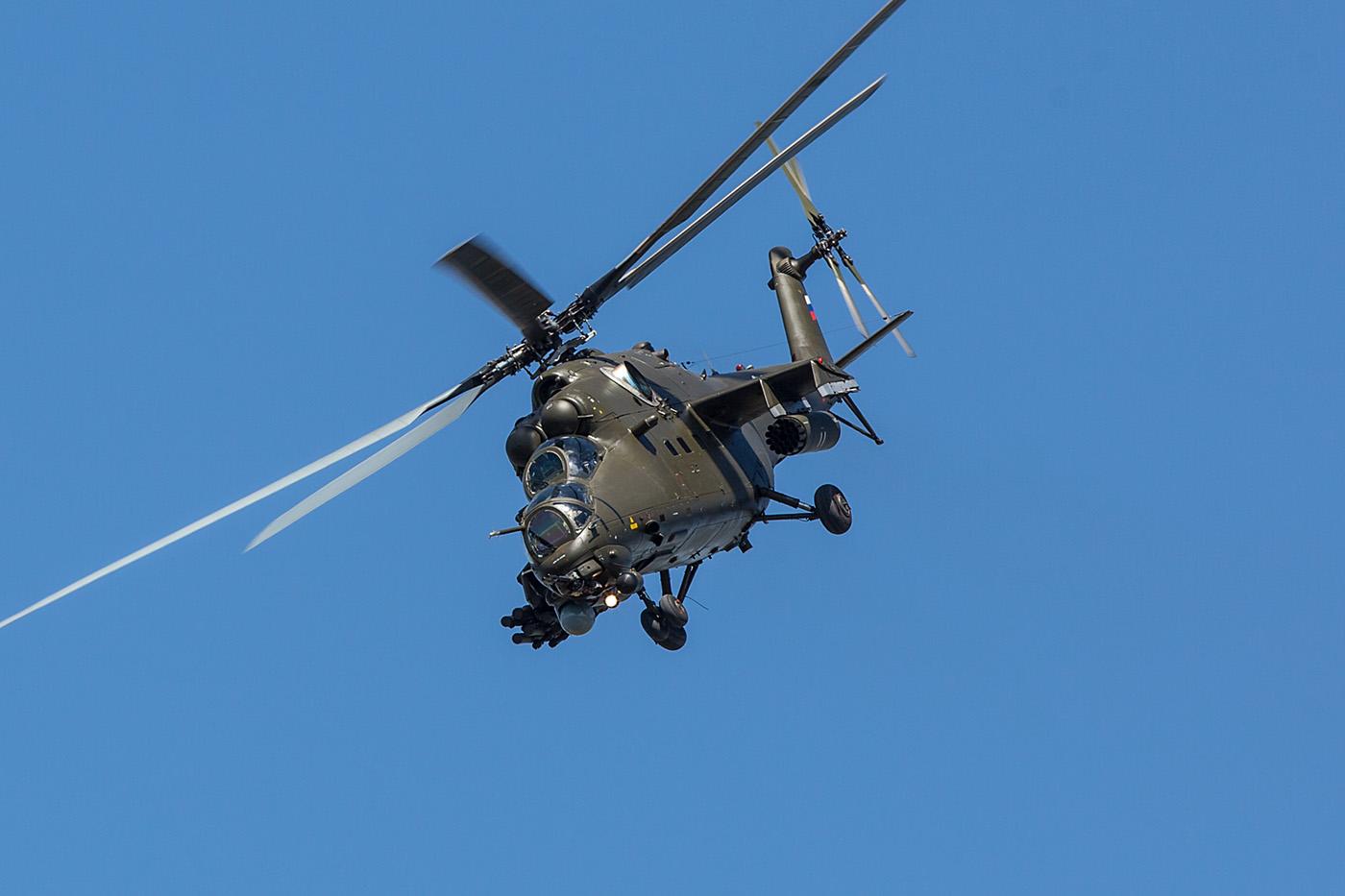 Die Mil Mi-35 ist der moderne Nachfolger der ursprünglichen Mi-24.