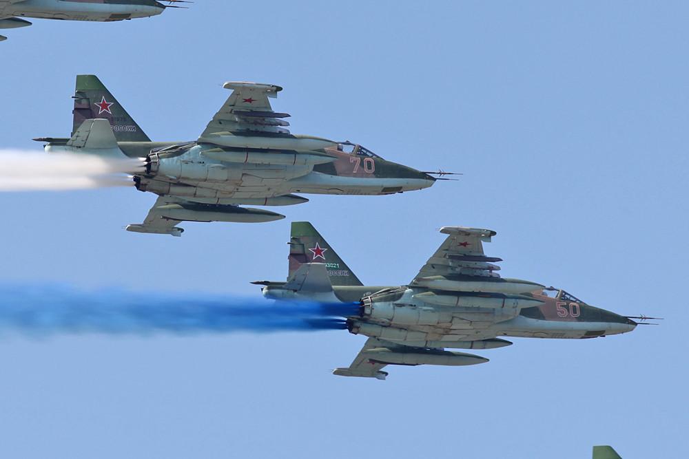 Formation aus mehreren SU-25