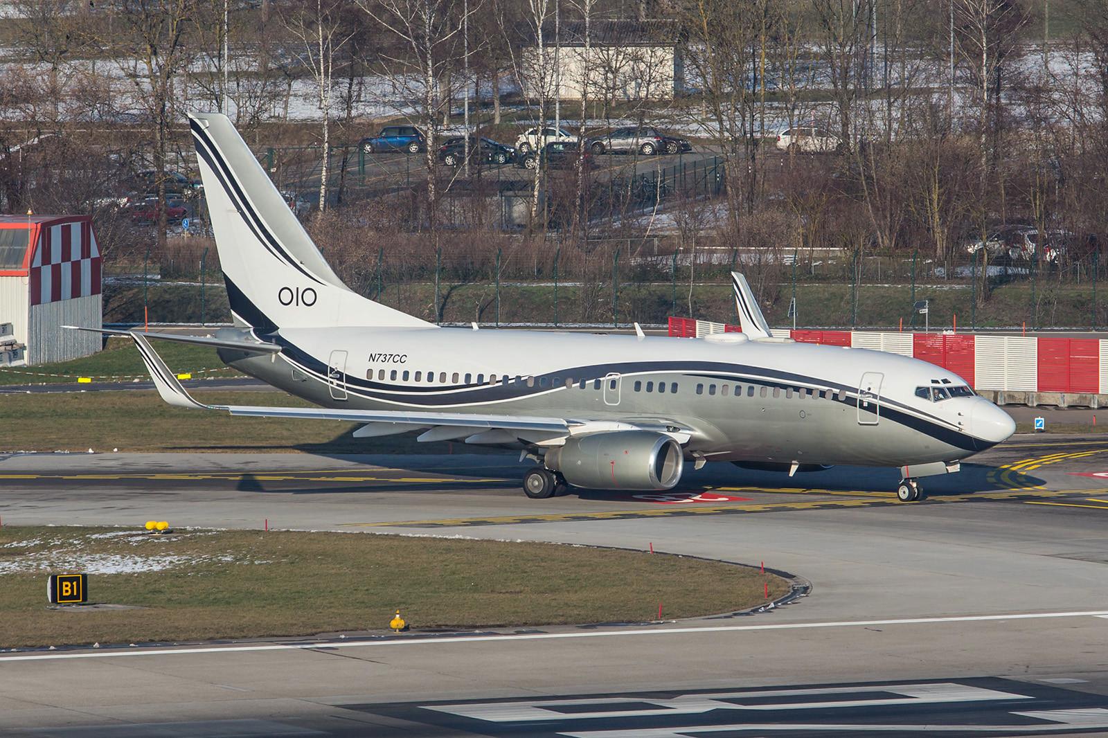 N737CC; Mid East Jet Boeing 737-74Q/W BBJ