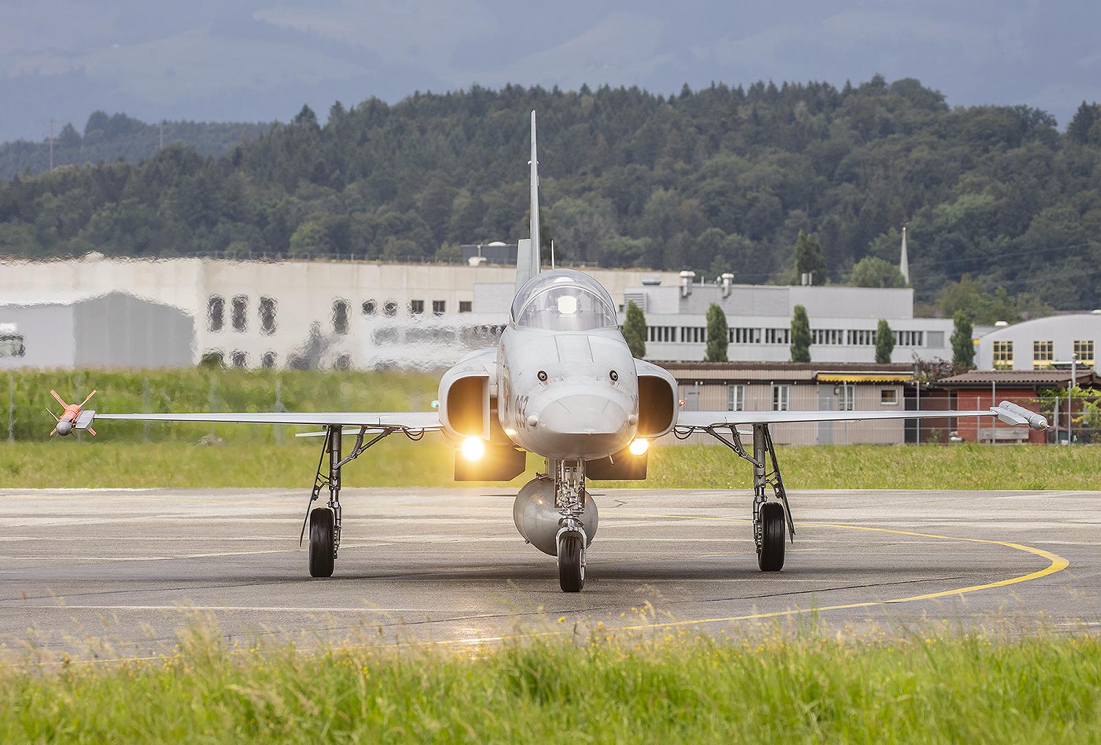 Immer seltener werden die F-5 Tiger II.