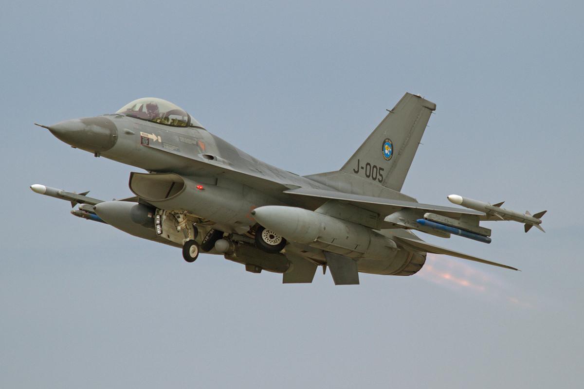 Über 30 Jahre haben die niederländischen F-16 schon auf dem Buckel.
