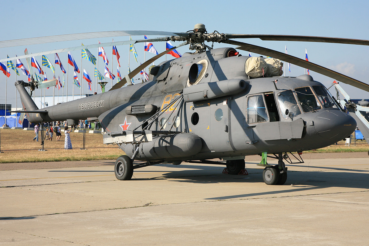 Ein Erfolgsmodel seit fast 40 Jahren die Hubschrauber der Reihe MI-8