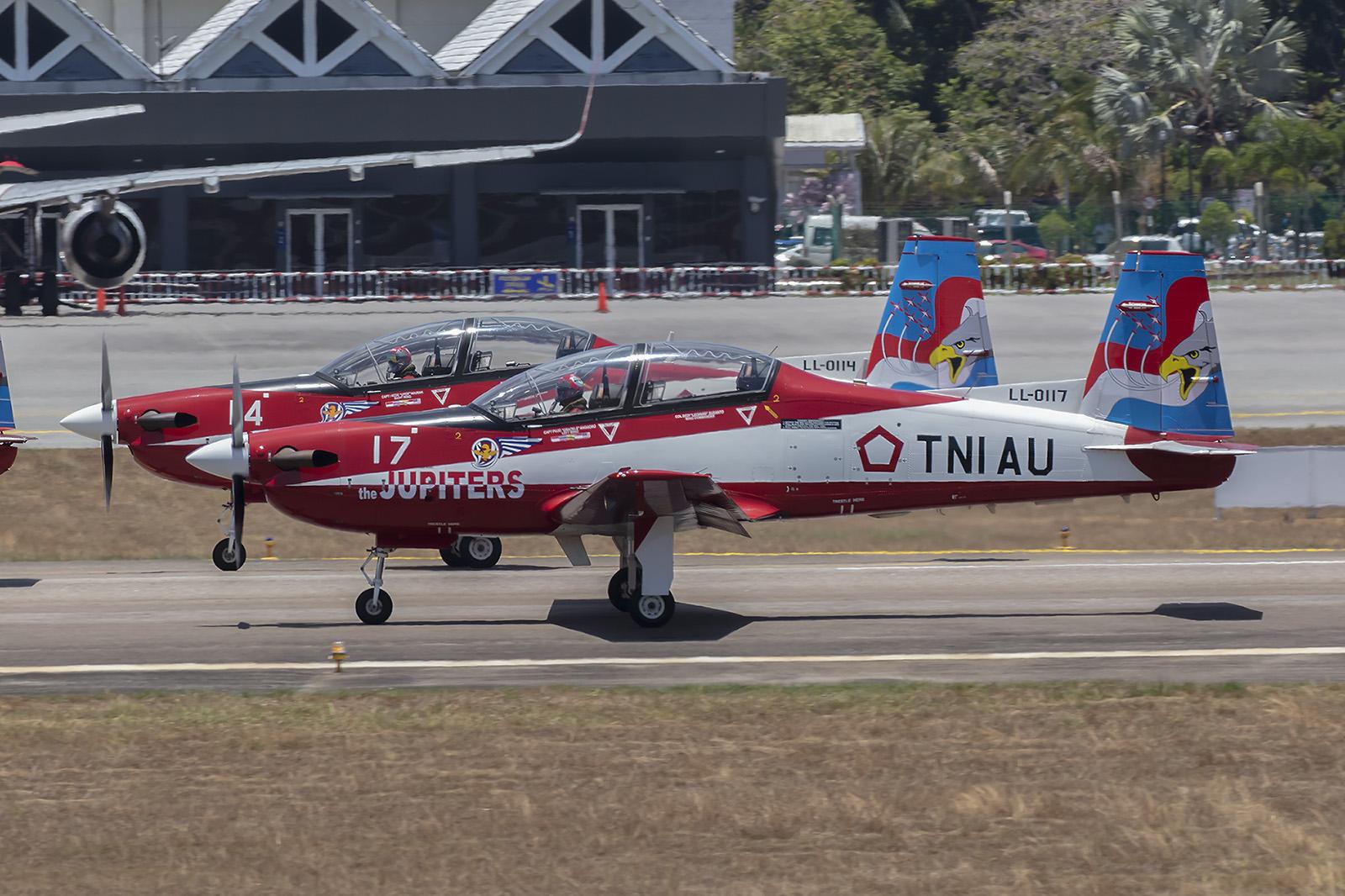Ein eher seltener Typ sind die KT-1 von Korean Aerospace Industries.