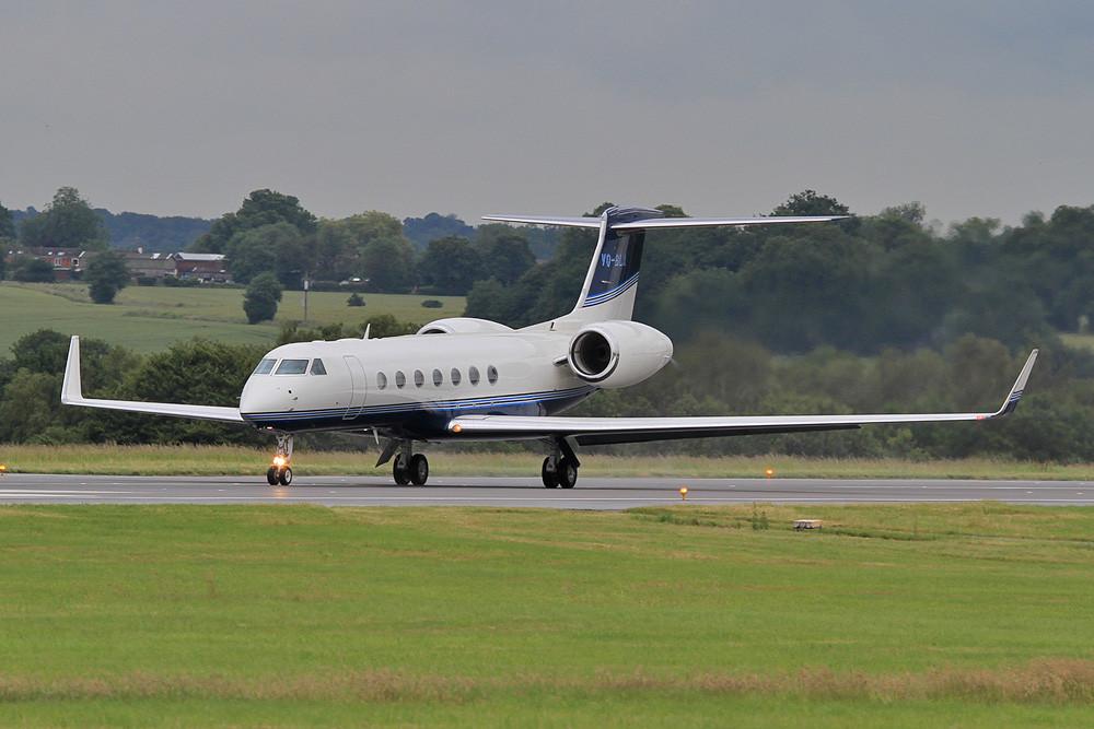 VQ-BLA, Gulfstream 550