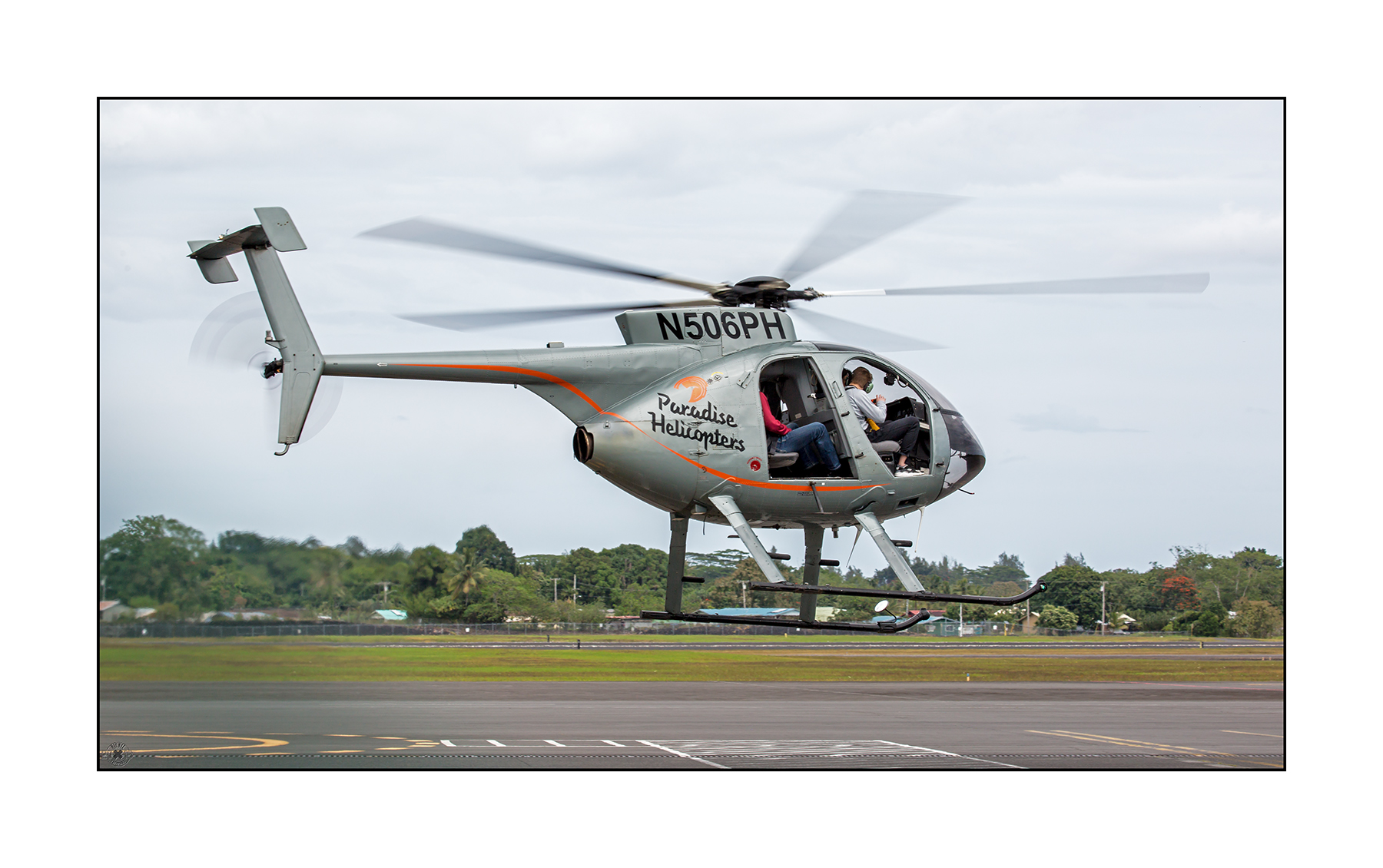 Hughes MD500E N506PH Paradise Helicopters Hilo Airport