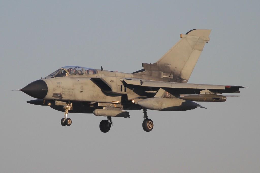 Landung eines IDS der 6 Stormo aus Ghedi.