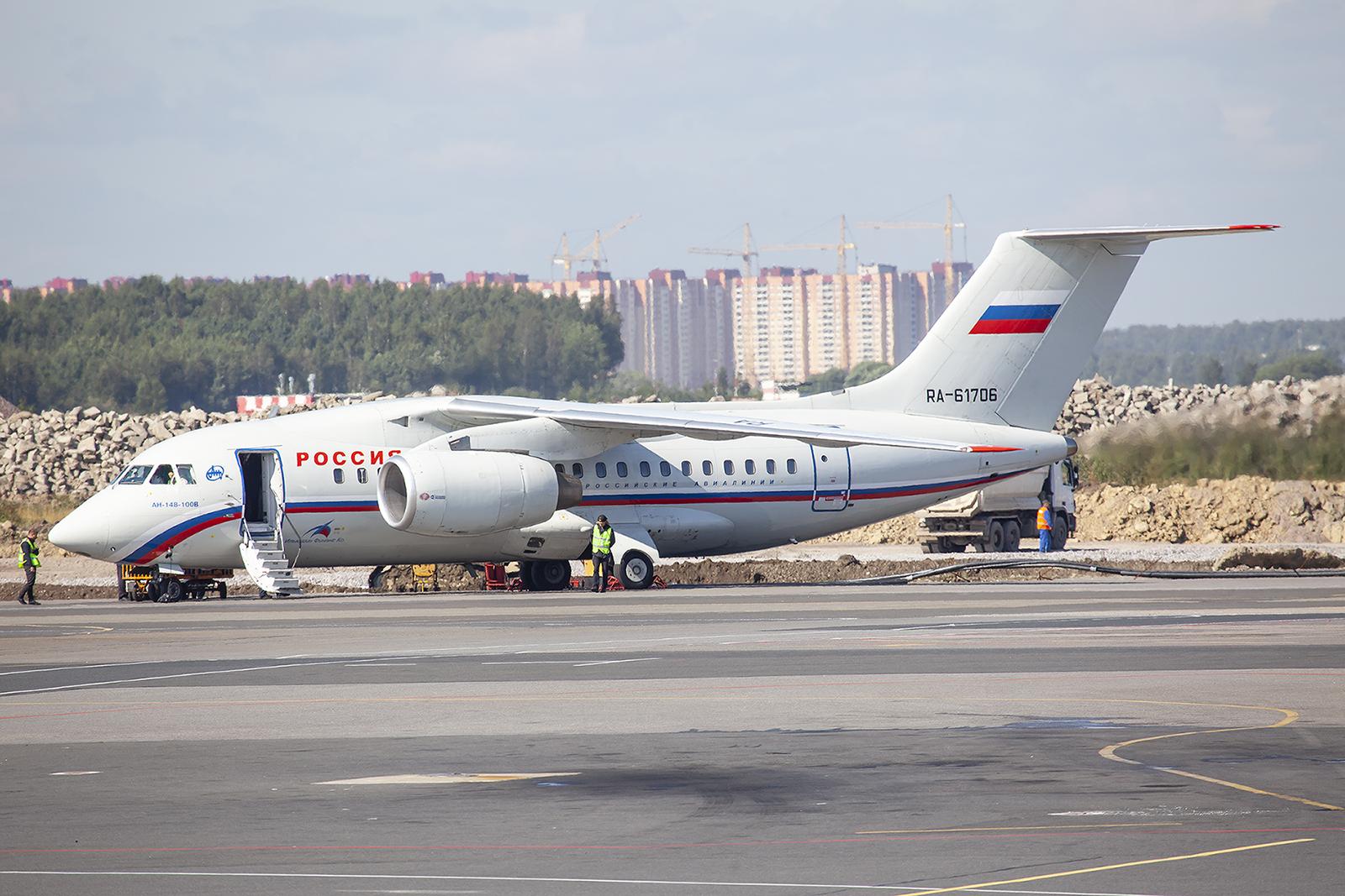AN148 der Rossiya.