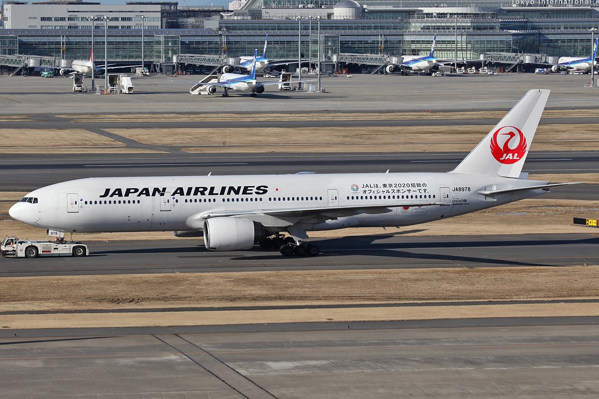 Aufgrund der hohen Passagierzahlen ist die Boeing 777 im Inlandsverkehr gut im Einsatz.