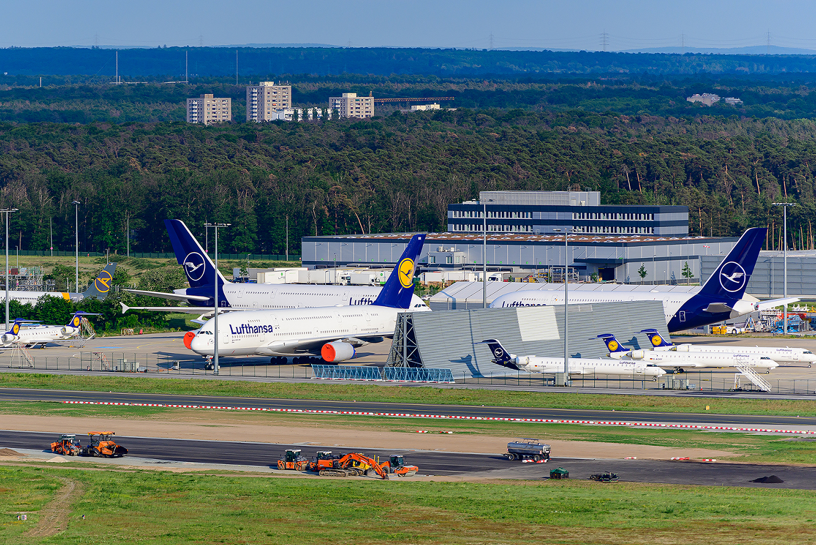 Alle A380 von Lufthansa waren außer Dienst gestellt