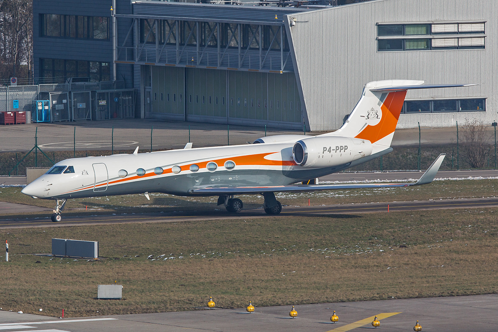 P4-PPP; unknown owner Gulfstream G550