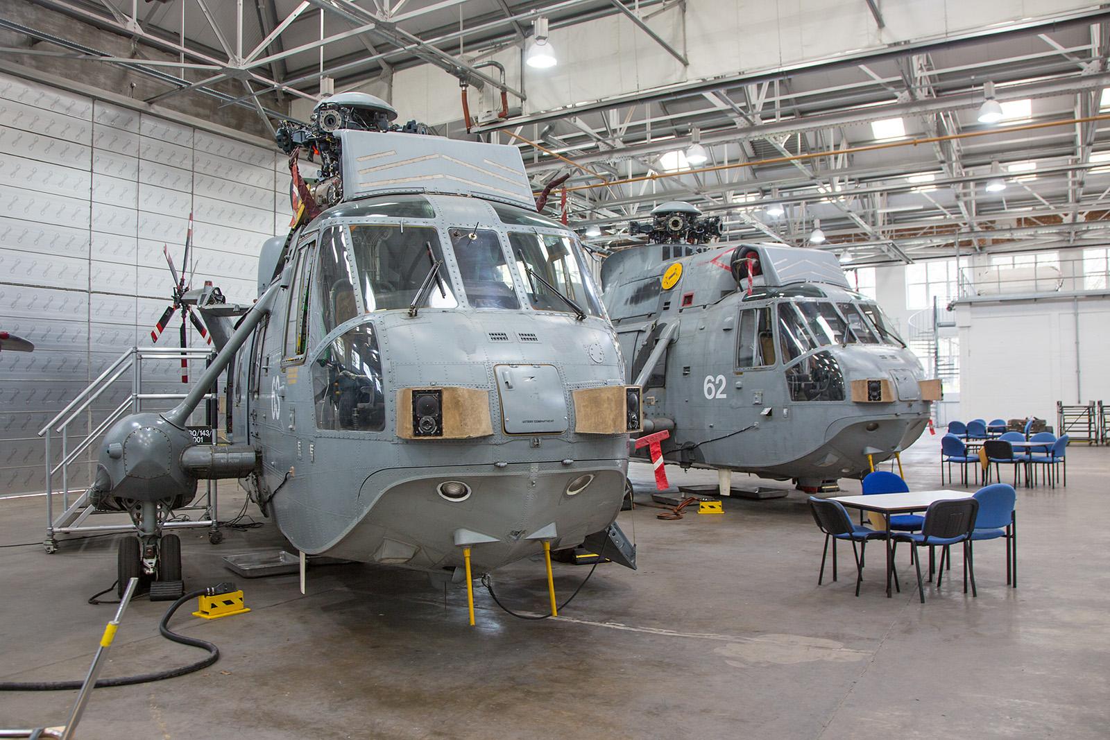XV659 und XV653, zwei Westland Sea King HAS.6