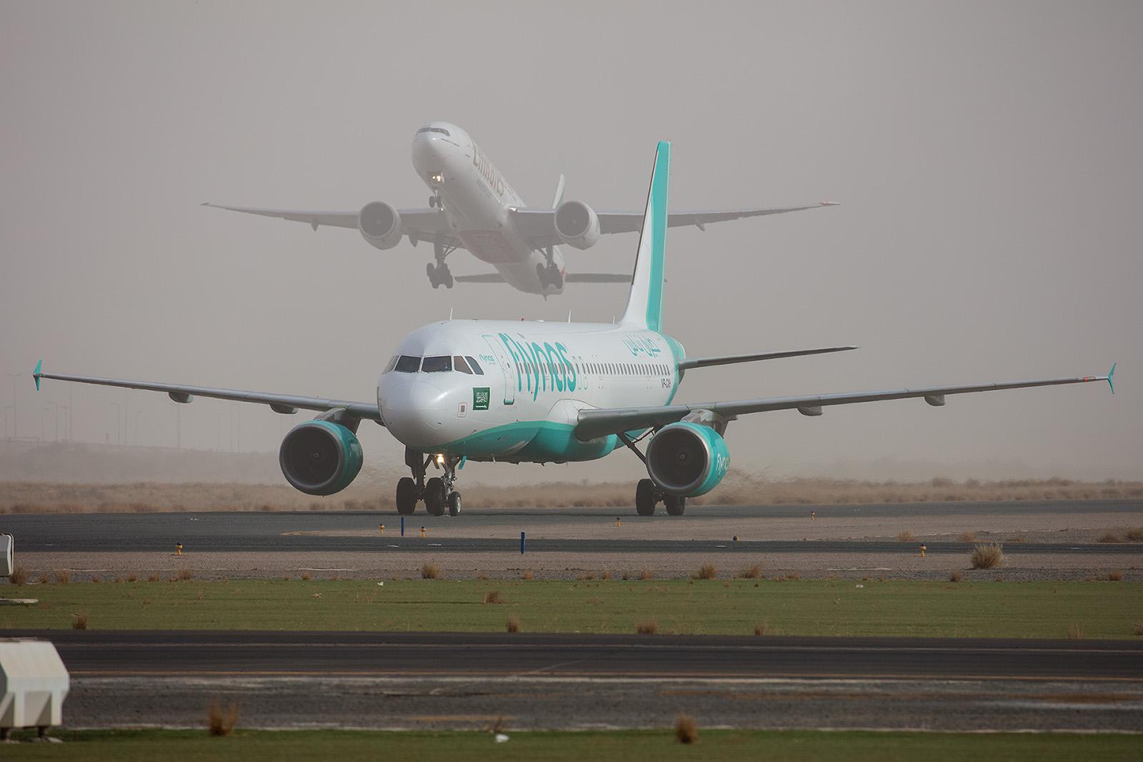 Airbus A320 der FlyNAS aus Saudi Arabien.