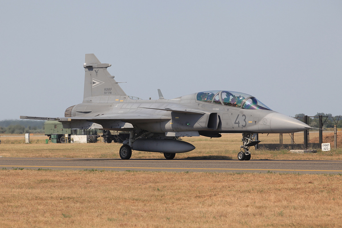 Saab JAS-39 Gripen der 59th Tactical Fighter Wing