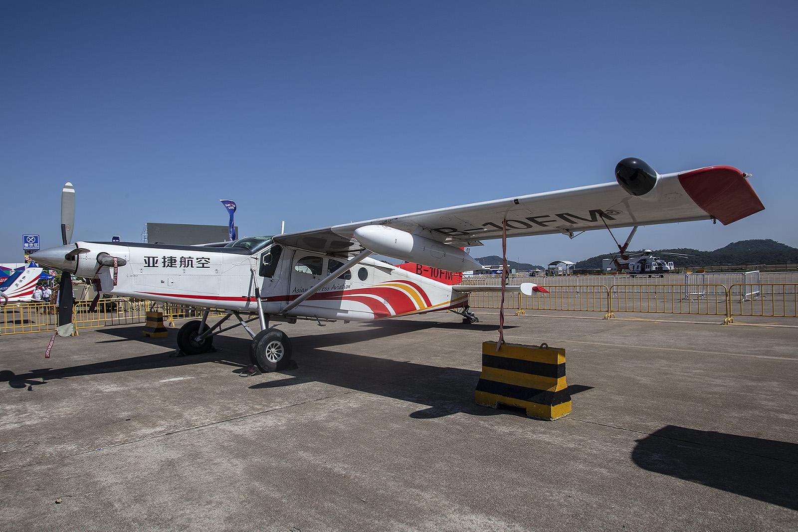 ....wie auch die PC-6 Turboporter von Pilatus.