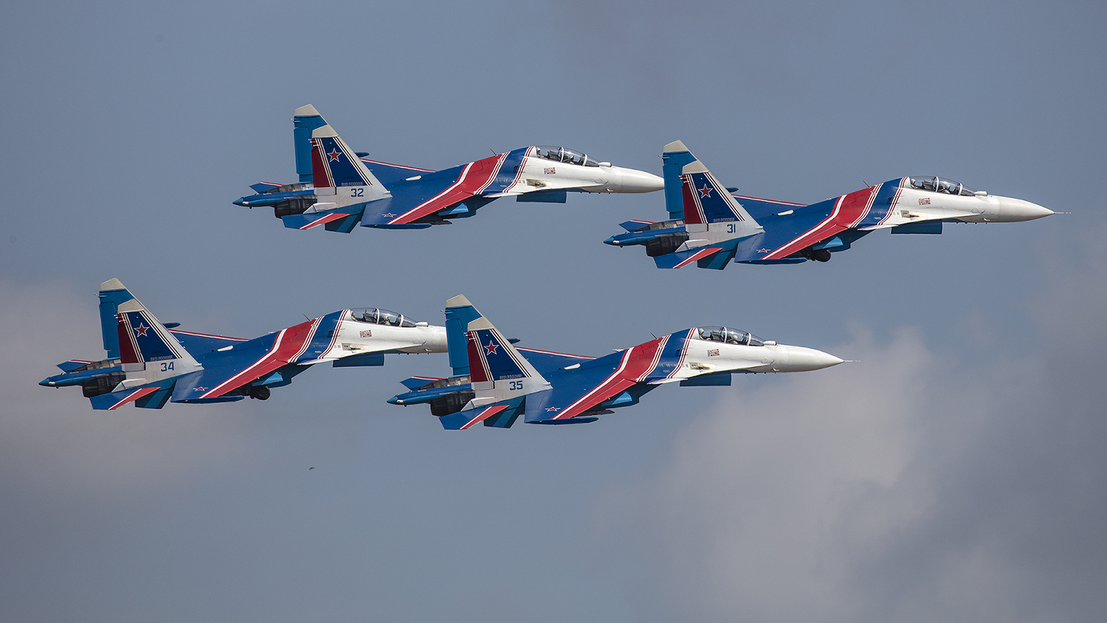 "Die ""Russian Knichts"" in Formation."