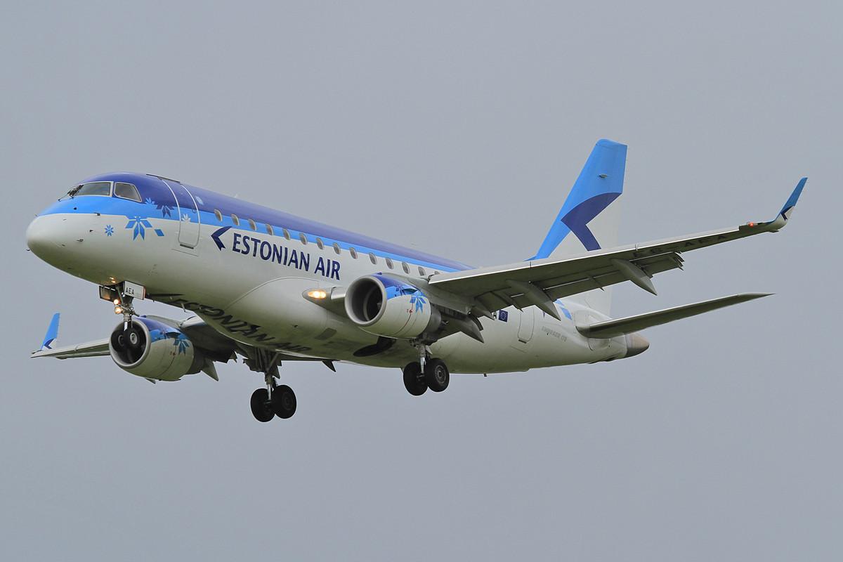 Brachte türkische Soldaten mit, diese Embraer der Estonian.