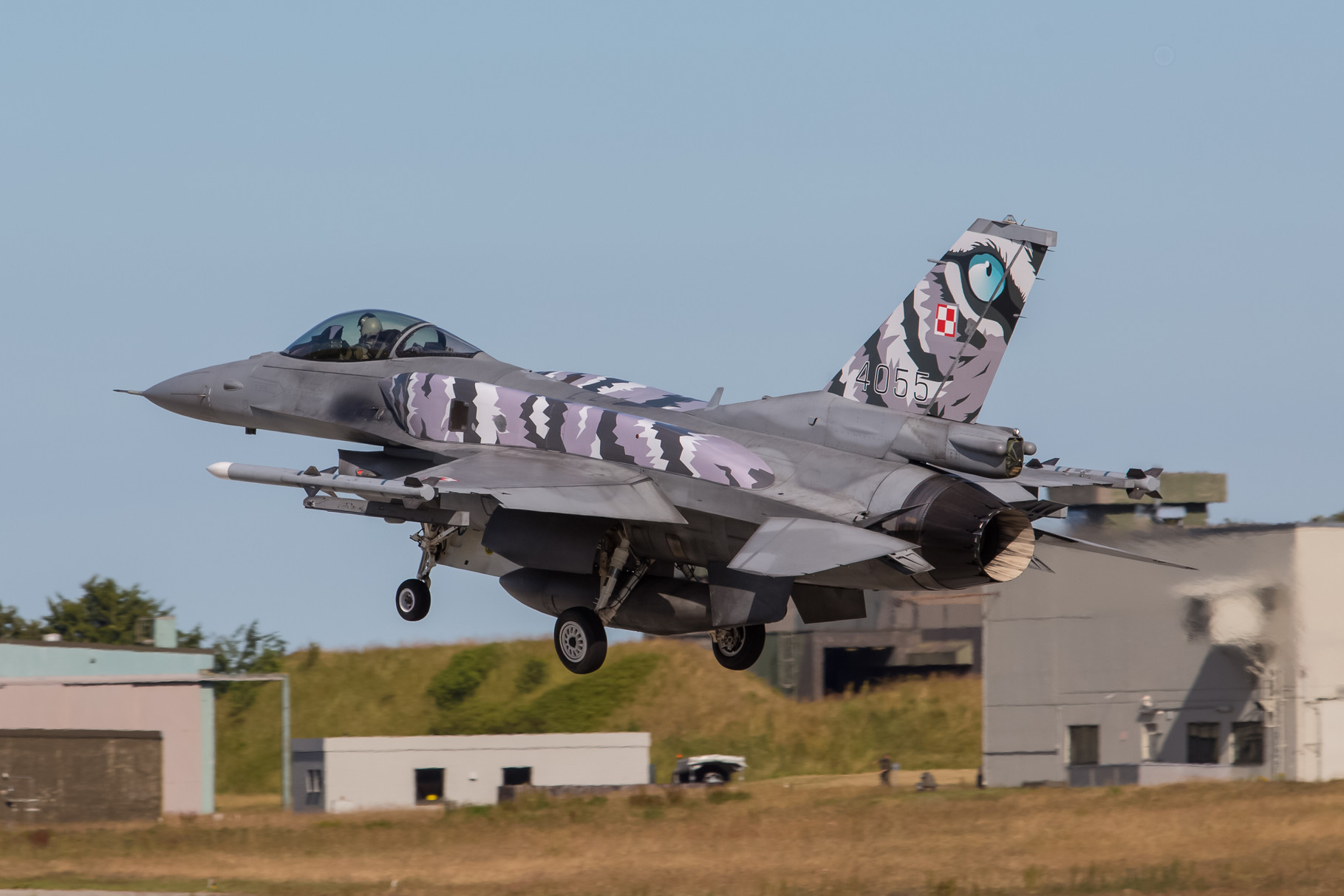 Aus Polen kamen die F-16C/D Block 52