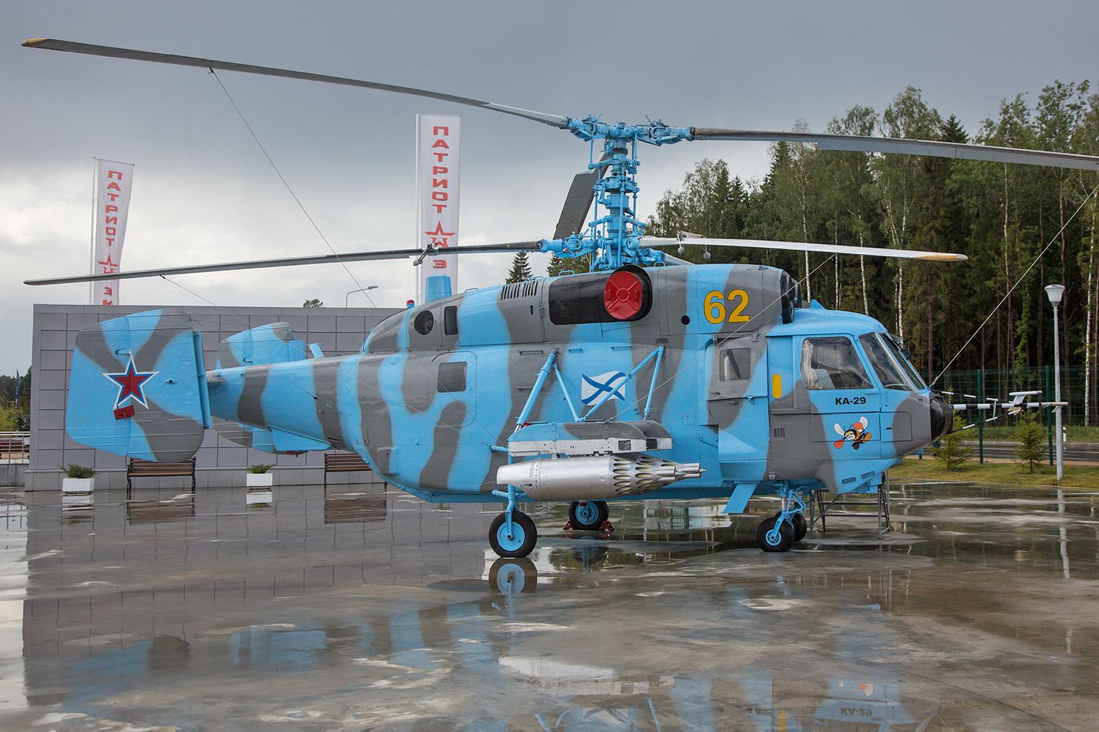 Die Kamov Ka-29 der Marine basiert auf der Ka-27.