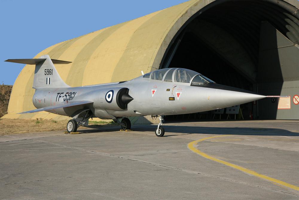 die F-104 Starfighter.