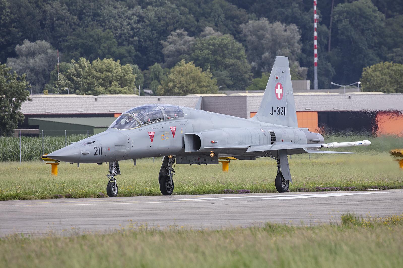 Nur Spanien verwendet in Europa noch die F-5-Doppelsitzer in der Pilotenausbildung.