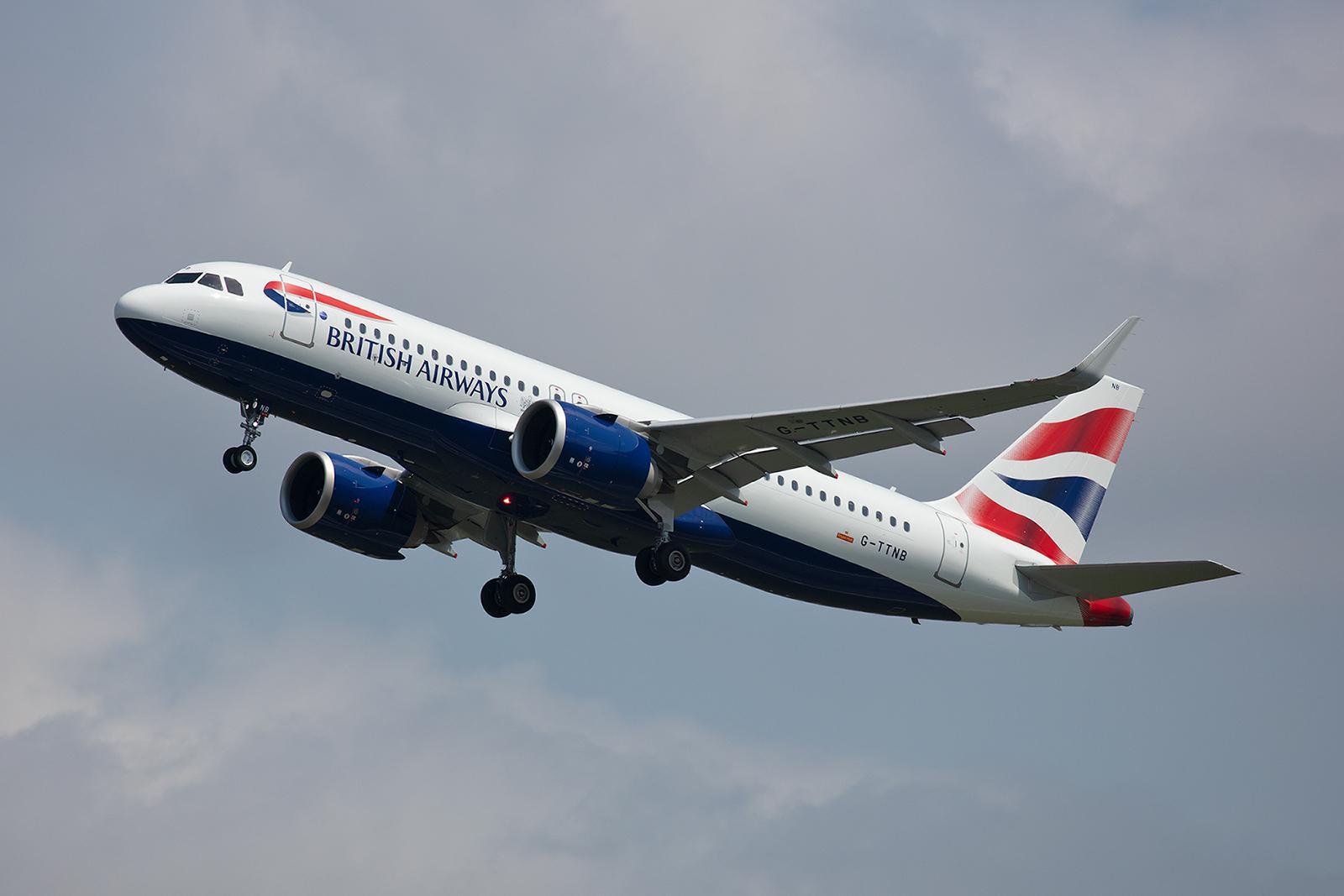 Die G-TTNB ist einer von derzeit drei Airbus A320NEO in der Flotte von Britsh Airways.