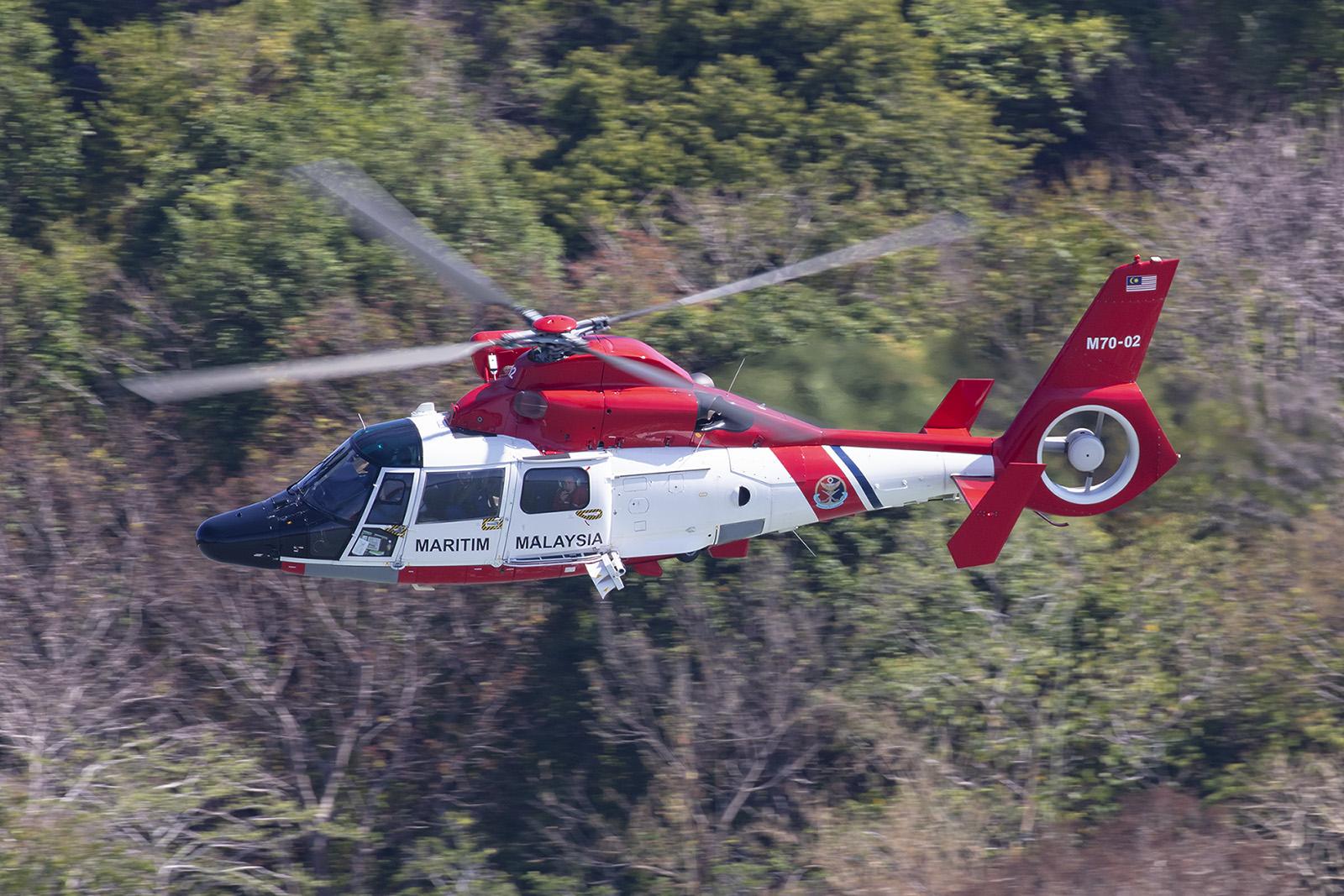 AS365 der Maritime Enforcement Agency